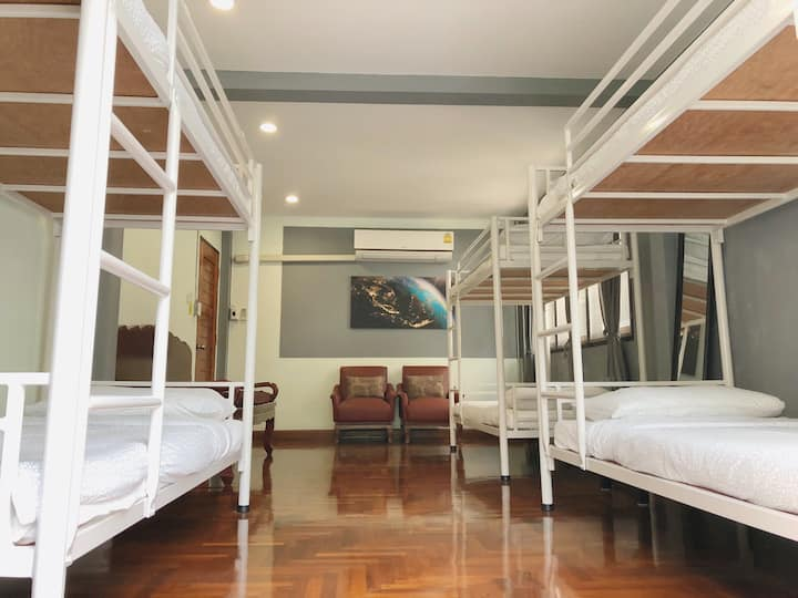 @HOME #3#Cozy&Traditional House NearbyBTS Bunk Bed