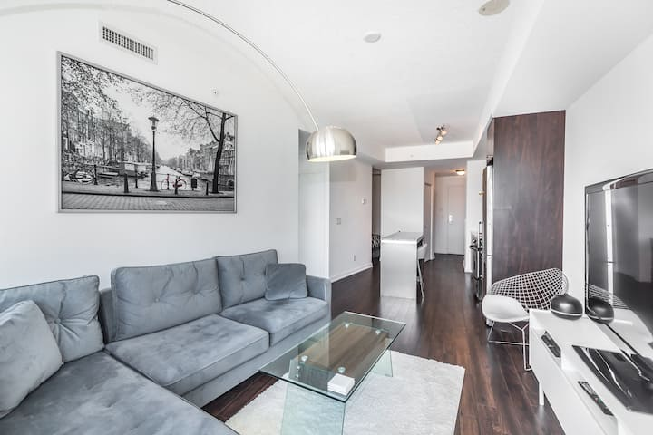 Spacious,stylish condo DT/Liberty Village