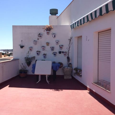 ATICO CON ASCENSOR,VISTAS MAR Y MON - Les Cases d'Alcanar - Apartment