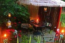 Garden Sitting/Dining Area