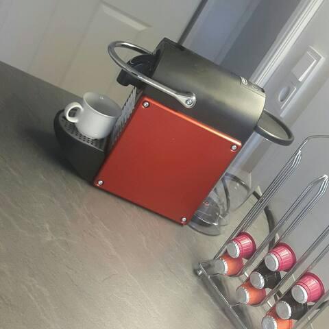 Nespresso Kapsel Kaffeemaschine