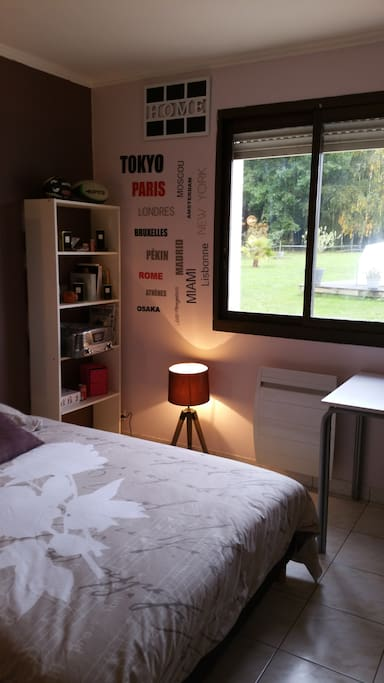 Chambre privee avec sdb 15 min puy du fou houses for for Translate chambre