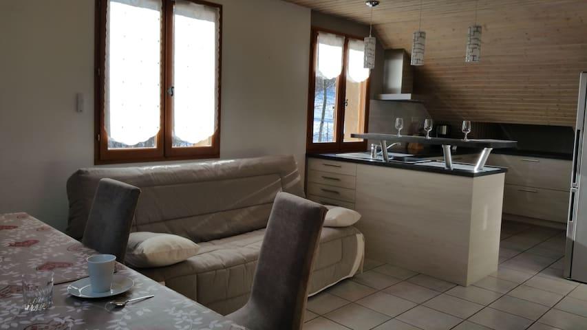 Chez Gilles et Régine - Châteauroux-les-Alpes - Apartment