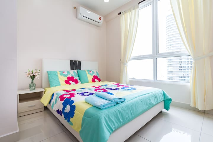 Lily, Tranquility Sea view, 2room2bath,4PAX,WiFi