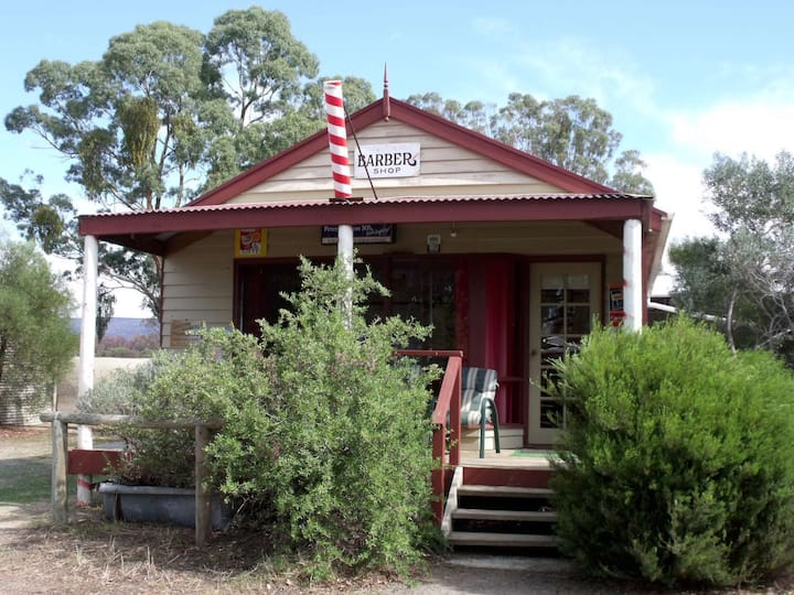 """ Robbies Barber Shop"" Old Dadswell Town.."