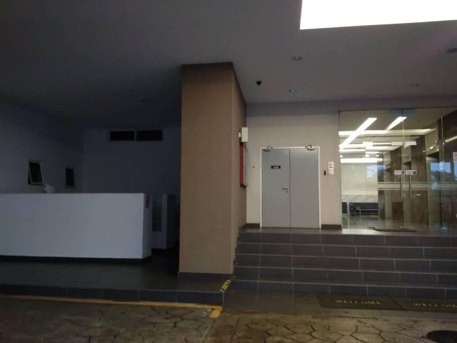 Letter Box Entrance