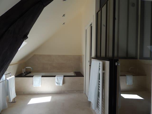 Duplex de 70 mètres carrés - vue sur Place Carnot