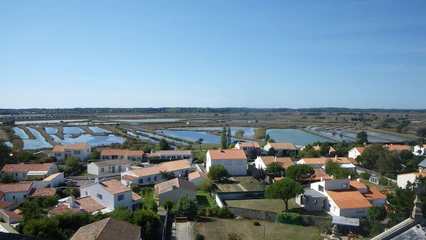 Charmante maison de Bourg proche Marais et Plages - L'Île-d'Olonne - Dom
