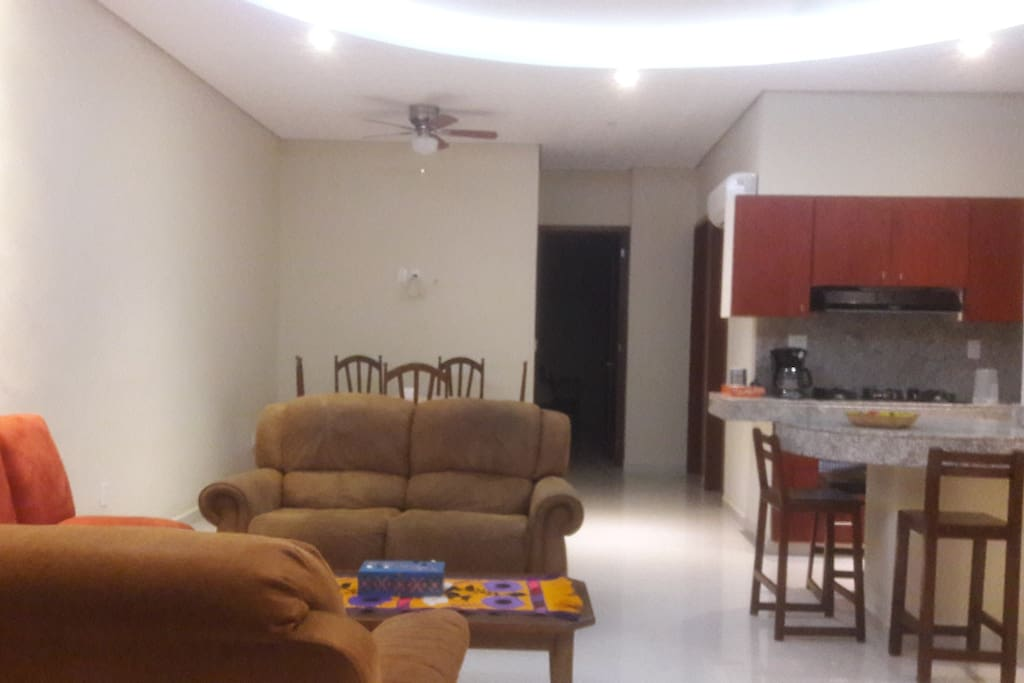 Living area, reclinables