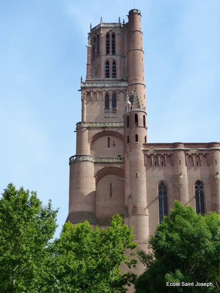 Albi, Cathédrale classée au patrimoine mondial de l'Unesco