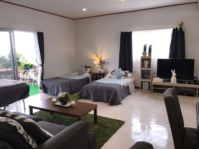 Reserve 2F part of Okinawa City's House
