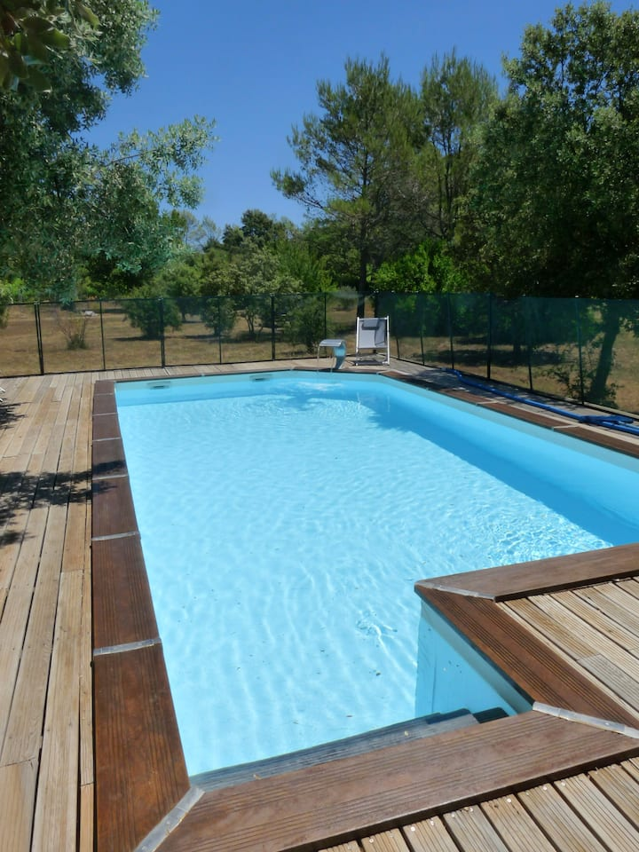 Villa with 3 bedrooms in Flassans-sur-Issole, with private pool, furnished garden and WiFi - 40 km from the beach