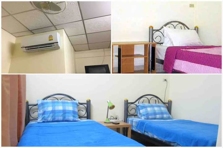 Private A/C room + Ensuite Bath in Phuket Old Town