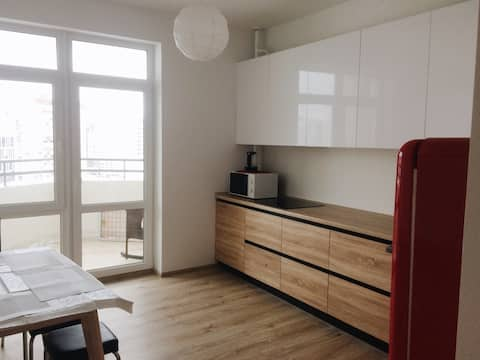 New sweet apartment @20 min to city center by tram