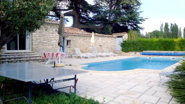 Villa with 2 bedrooms in Dauphin, with private pool, enclosed garden and WiFi