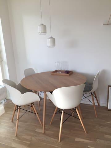 Lækker lys lejlighed på havnen - Odense - Apartament