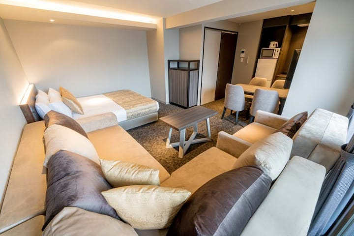 GOTOトラベル利用可!きれいな客室◆全改装済◆三条駅・鴨川すぐ◆コンドミニアム [2S A]