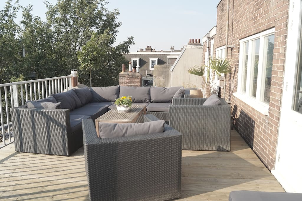 Beautiful Rooftop Terrace
