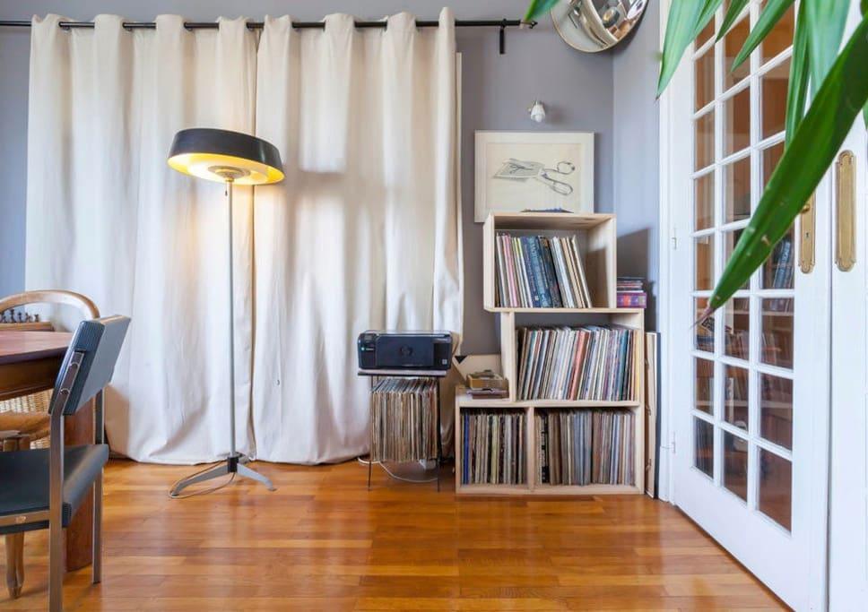 le salon bohémo-colonial / the livingroom