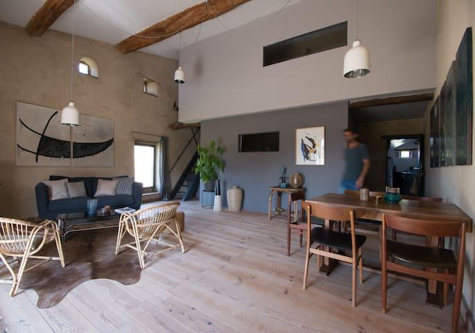 Maison charme Drôme Provençale piscine naturelle - Puy Saint Martin - Hus