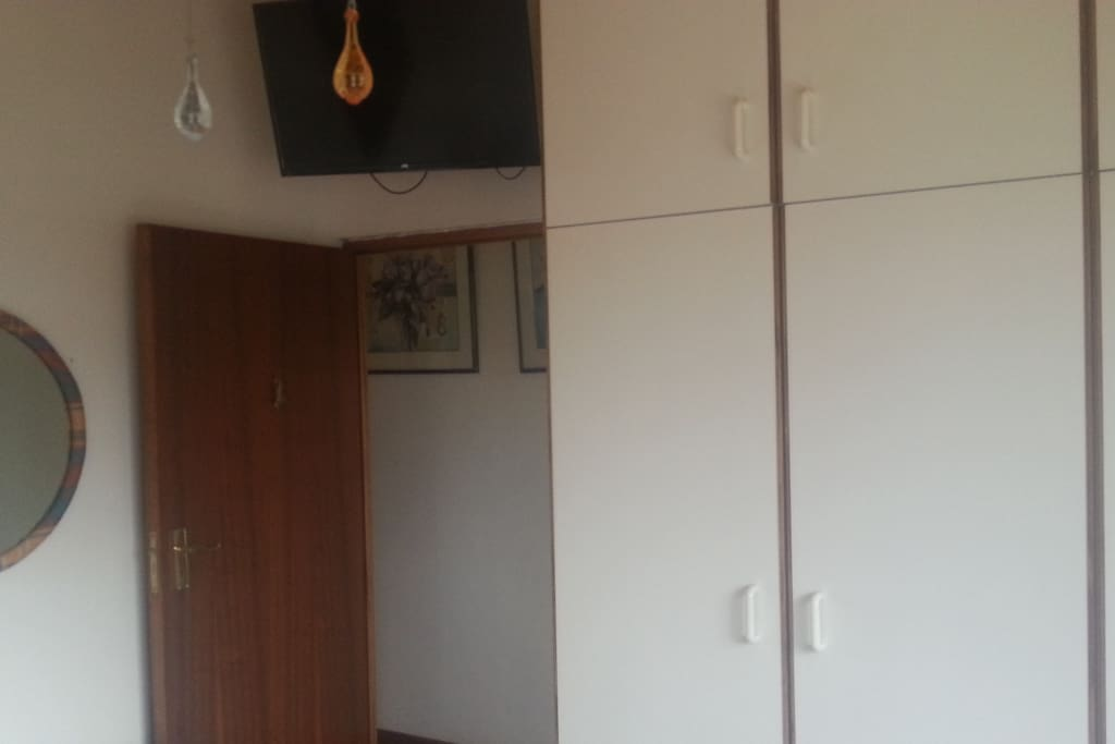 Cupboards and TV