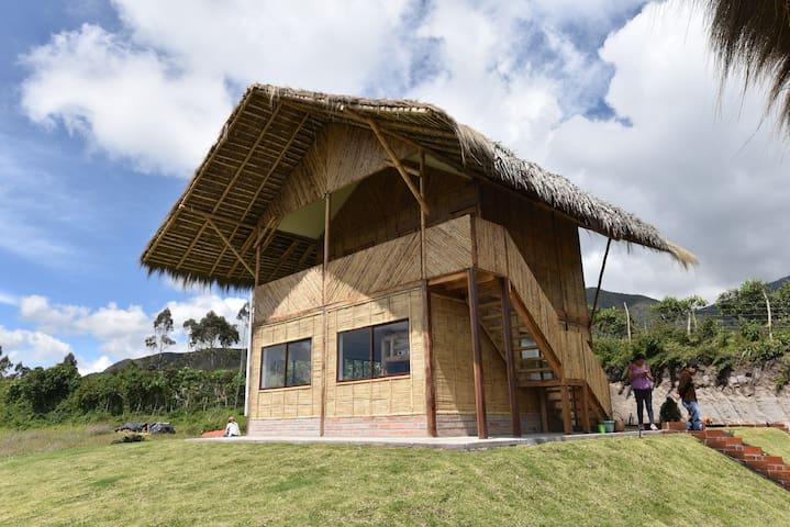 Sara Lodge cabana exterior view
