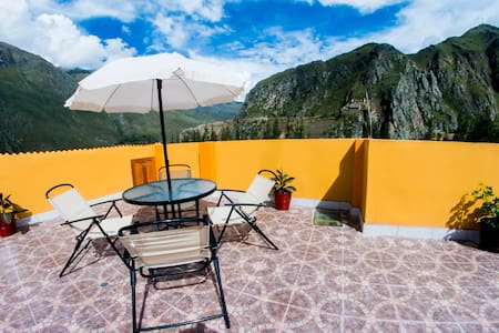 TWIN ROOM WITH MOUNTAIN VIEW - Ollantaytambo - Bed & Breakfast