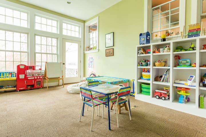 playroom - on first floor