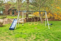 swing set - for kids 10 and under