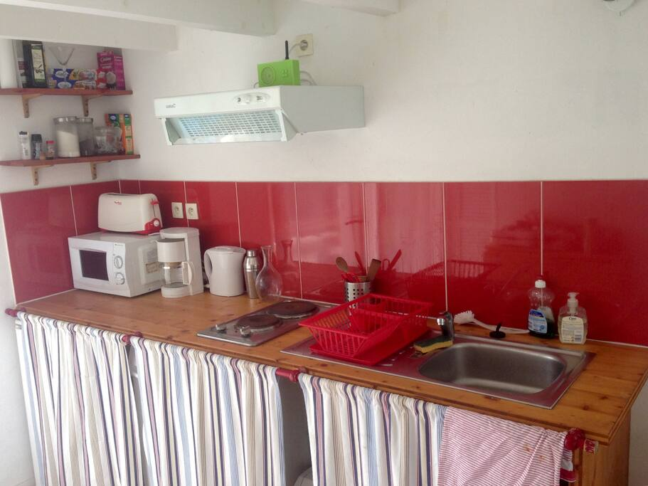 Vue pièce principale, côté cuisine