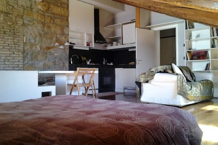 Mini loft, very charming, wifi - Triest - Loft