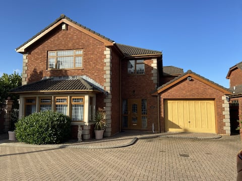 Executive family home near Cardiff