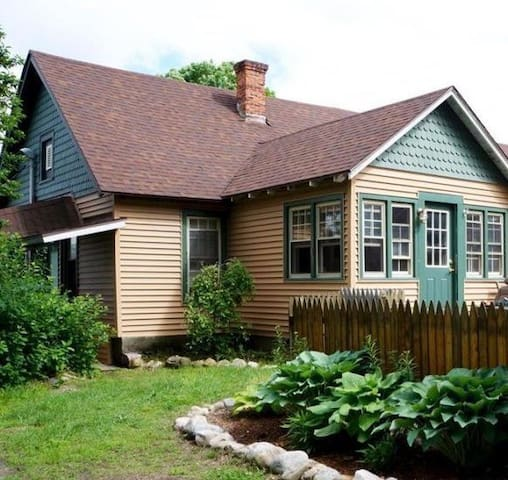 Adirondack Cottage Apartment: Schroon and Gore Mt. - Pottersville - Daire