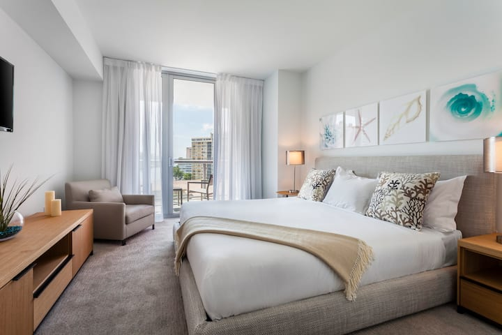 Beautiful Miami Apartment With Kitchen +12thFloor!