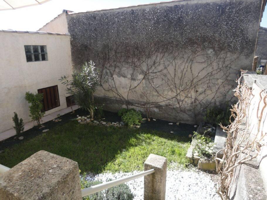 vue du jardinet