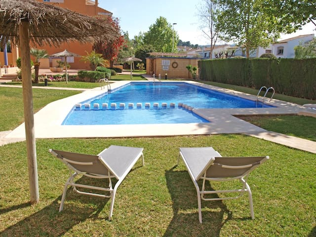 ApartUP Jávea Cala Blanca. Pool + PK - Jávea - Apartment