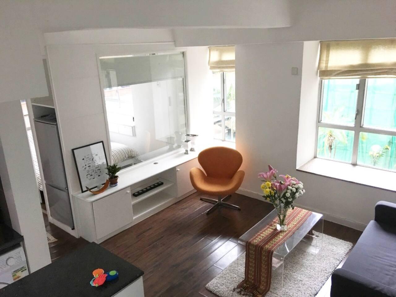1.5 bedroom in the heart of SoHo