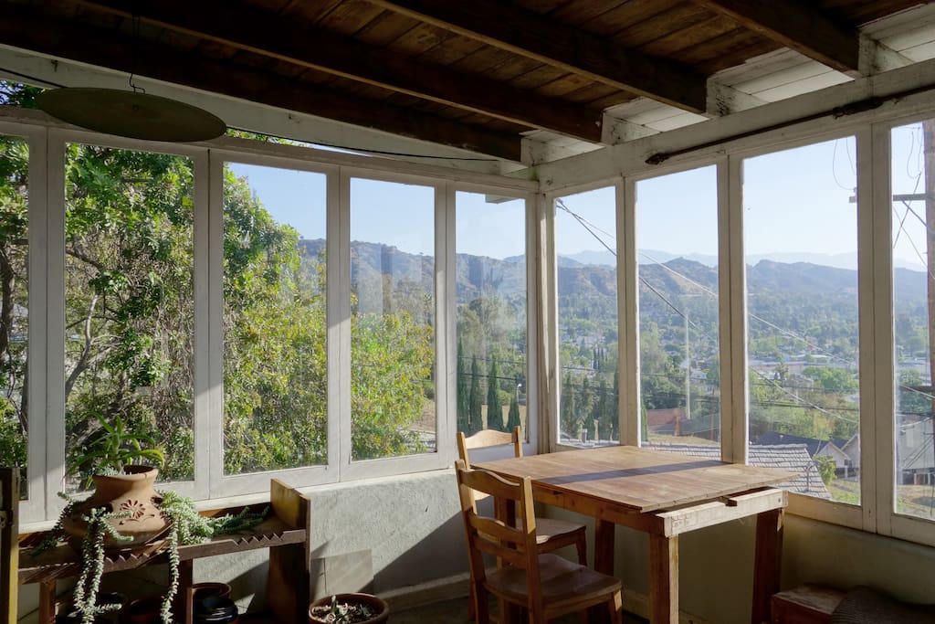 Separate enclosed porch w/ amazing 180 degree views