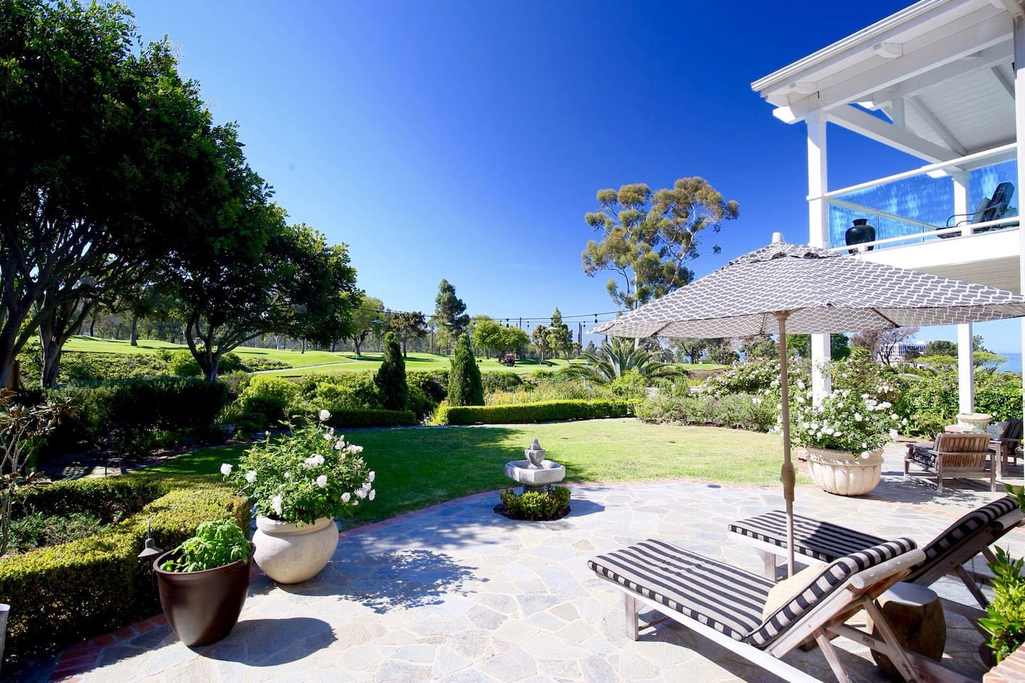 Come stay in this beautiful private backyard, close to everything, but secluded for serenity.