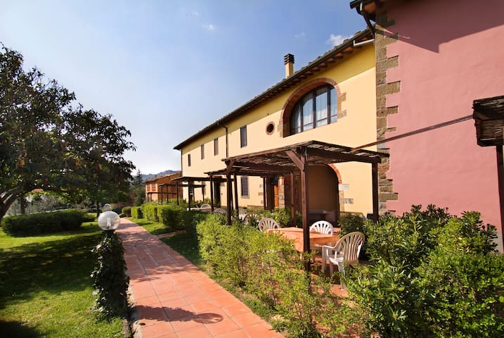 Apartment Tuscany- 2 people- pool - Loro Ciuffenna - Apartament