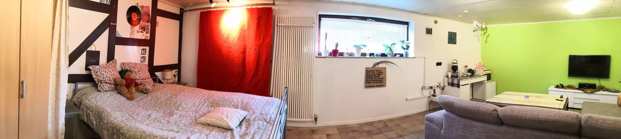 Zimmer in ruhiger Lage für 2-3 Personen