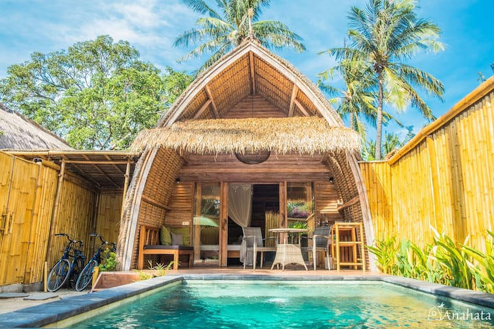 Anahata - Gili Air, Tropical Privat Pool Villa 1