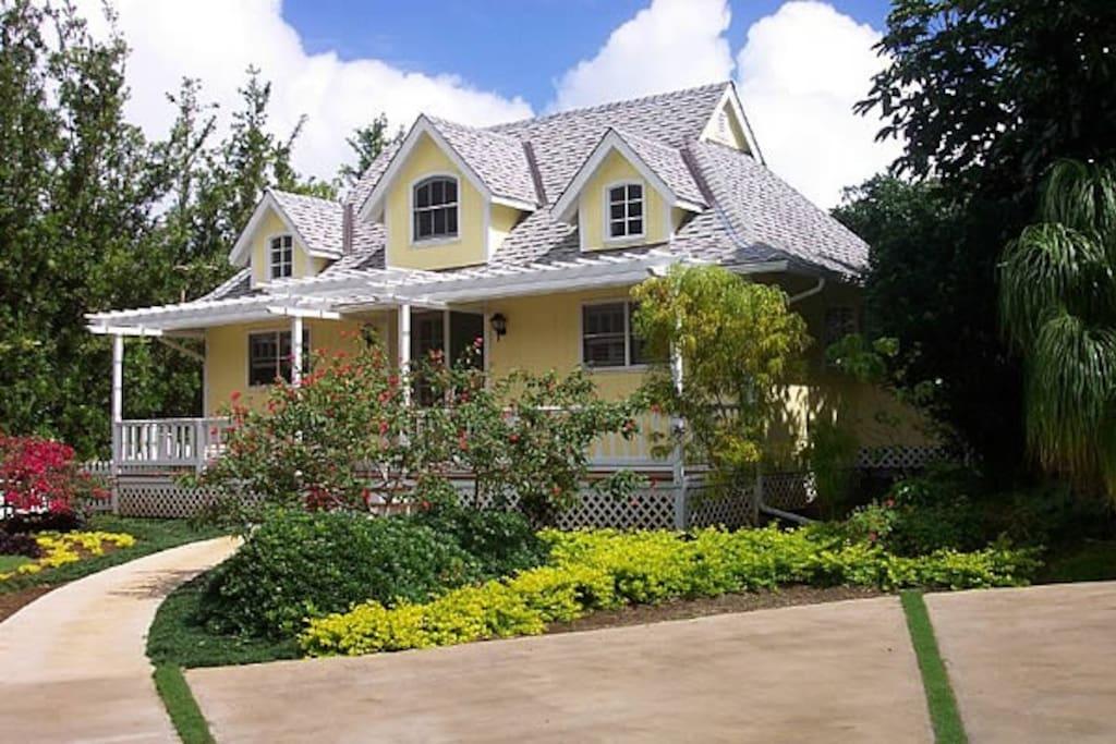 Victorian Cottage, Kauai