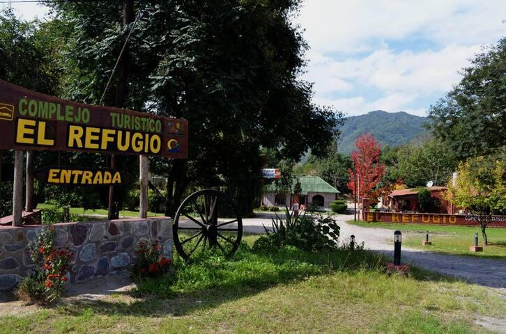 Complejo Turístico El Refugio - Cabaña