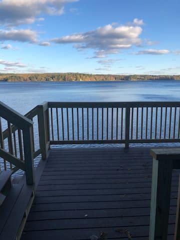 Lake House with incredible views