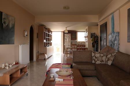 Artistic spacious flat in Nafplio - Apartment