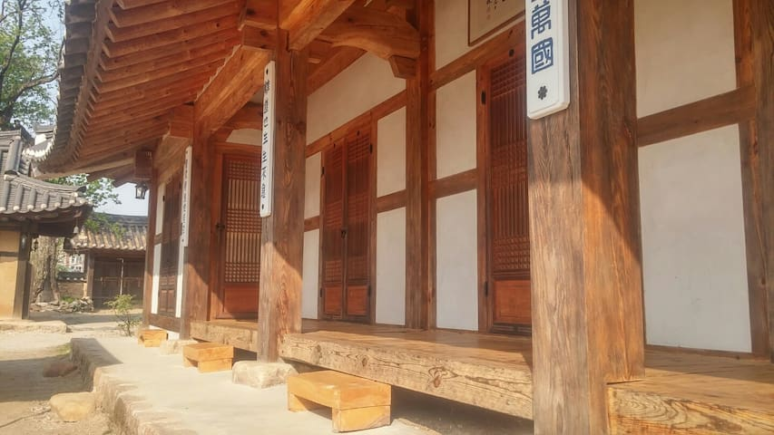 영월의 고택 문화재 조견당 사랑채 - Jucheon-myeon, Yeongweol