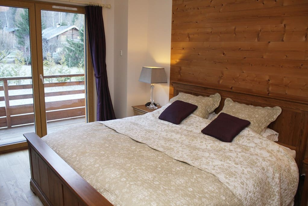 Super king double bed