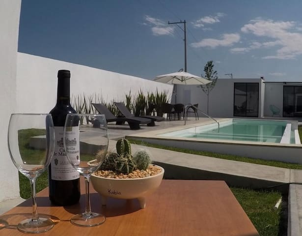 Casa kabia 1  seis  suites con terraza privada