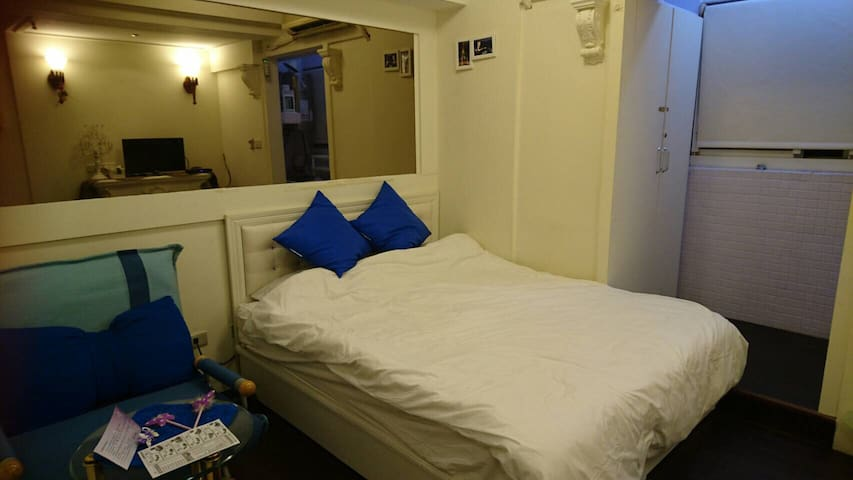 Cozy suite near MRT and night market - Gushan District - Apartamento